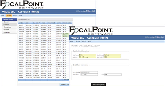 FocalPoint Auto-Pay and Customer Portal Payments